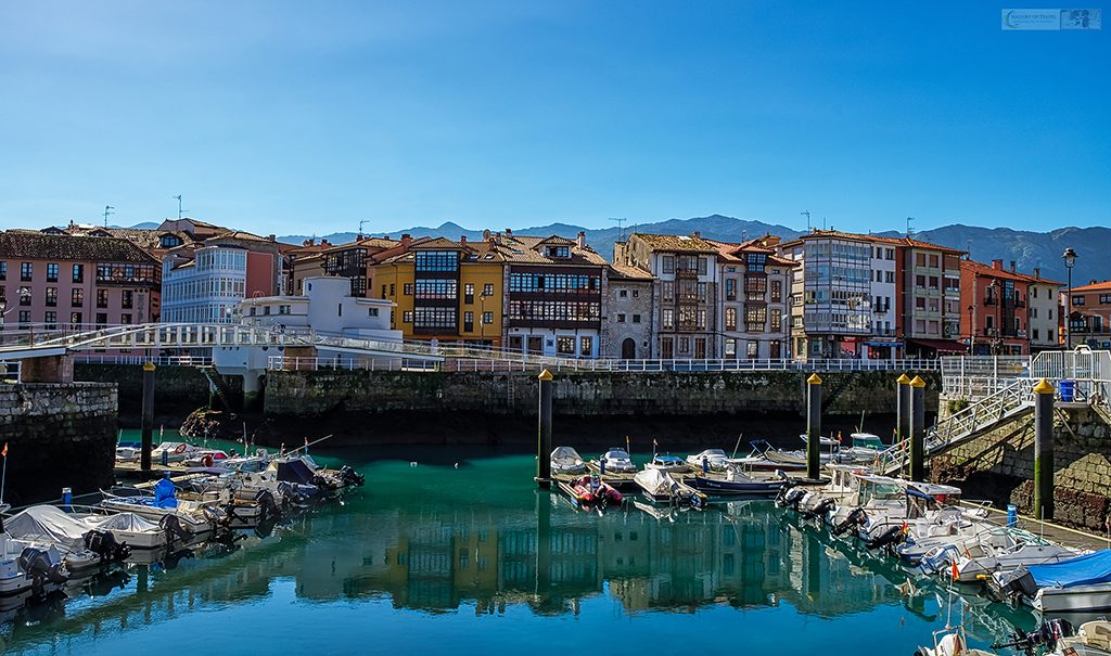 Reflections in the attractive harbour of Llanes, Asturias in northern green Spain on Mallory on Travel adventure travel, photography, travel Iain Mallory_spain-15